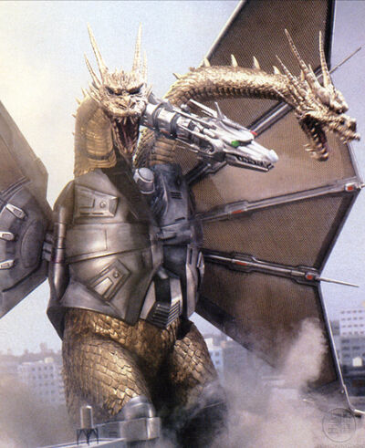 Mecha King Ghidorah-2