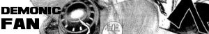 Demonic Fan Sticker