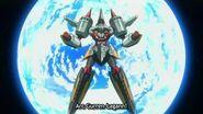 Tengen Toppa Gurren Lagann - Arc Gurren Transformation and Burst Spining Punch HD