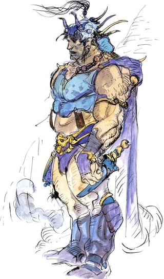 Guy (Final Fantasy II)Render