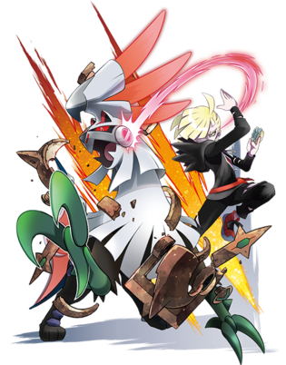 Gladion with Silvally