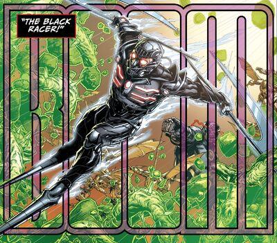 Black racer darkseid wars
