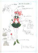 Sailor Jupiter Concept art
