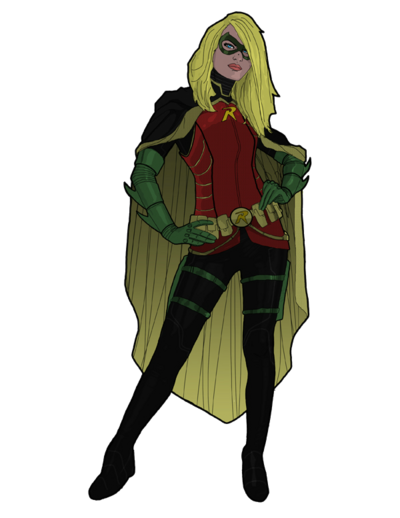 Stephanie brown as robin by tsbranch-d5jusvo