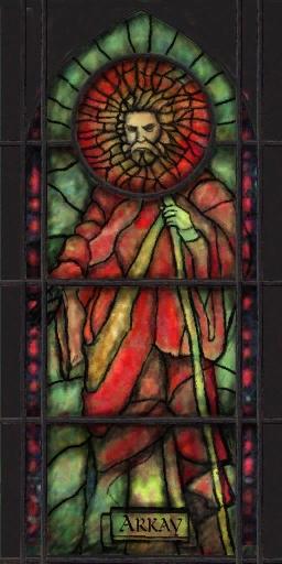 Nine ob arkay window