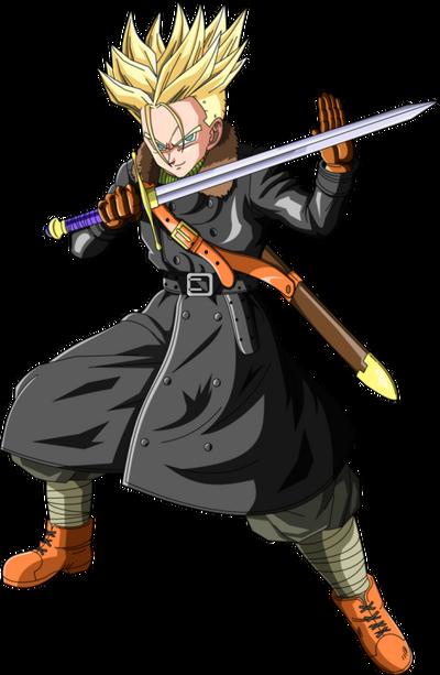 Super Saiyan Xeno Trunks