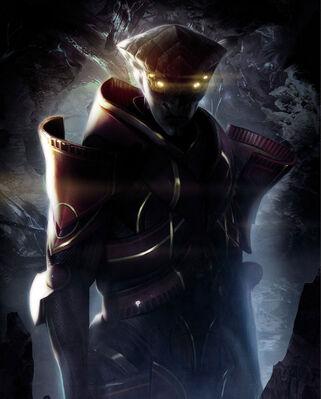 Javik Mass Effect