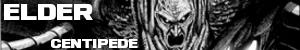 Elder centipede sticker