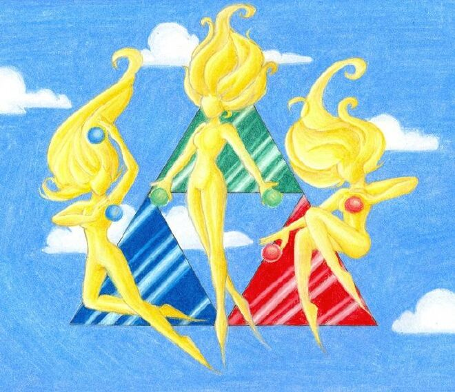 Golden goddesses by sahan