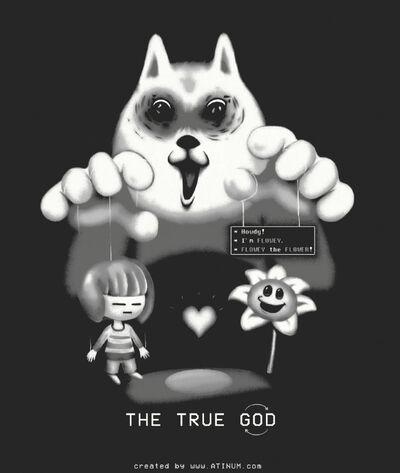 God is dog backwards