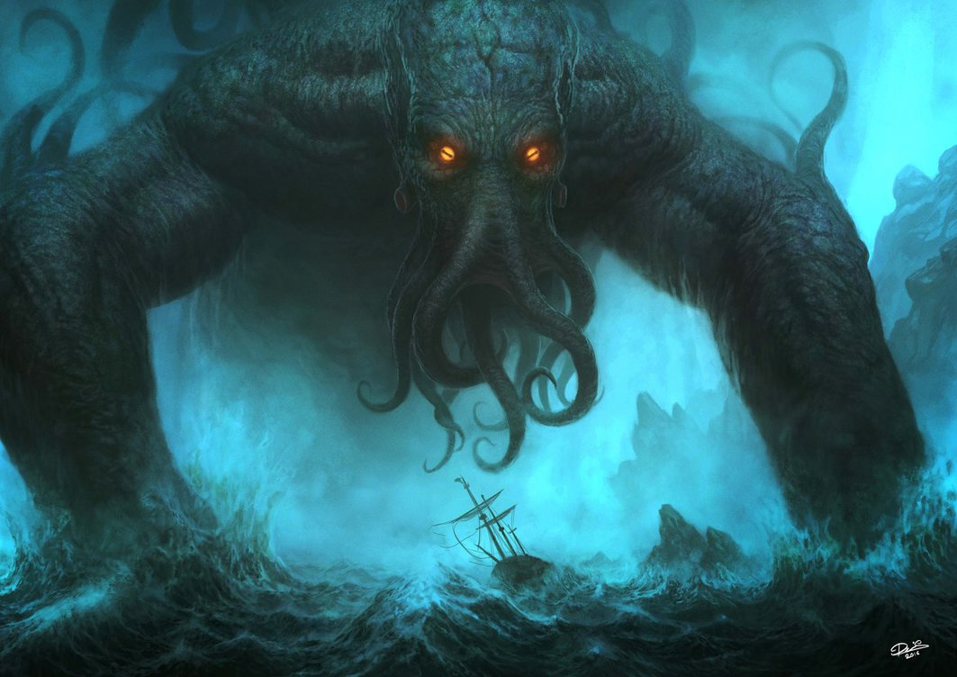 Image result for cthulhu