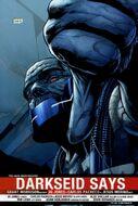 Darkseid Fourth Wall Thumbs Down