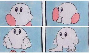 Kirby feet