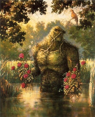 Swamp Thing Art