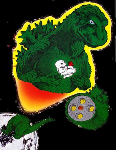 Godzilla alien