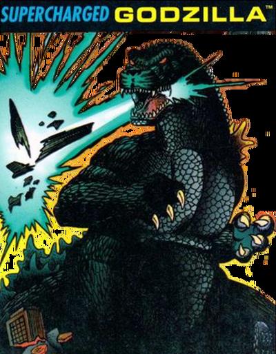 Godzilla super charged