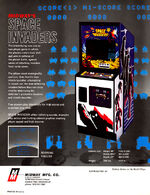 Space Invaders arcade flyer
