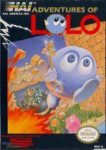 Adventure of Lolo NES cover
