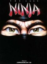 Last Ninja C64 cover