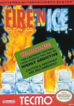 Fire n Ice NES cover
