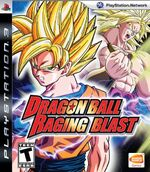 Dragon Ball Raging Blast PS3 Cover