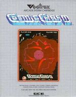 Cosmic Chasm Vectrex cover