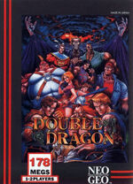 Double Dragon NeoGeo Cover