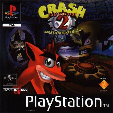 File:Crash Bandicoot 2 Cortex Strikes Back (PAL).jpg