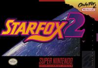 Starfox2 snes game box