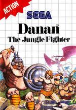 Danan The Jungle Fighter SMS box art