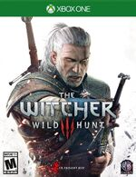 The Witcher 3 Xbox One cover