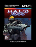 Atari 2600 Halo box art