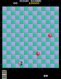 Motos arcade screenshot