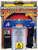 Battlezone arcade flyer