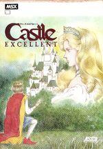 Castle Excellent MSX cover