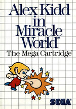 Alex Kidd in Miracle World SMS box art