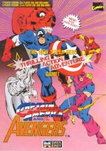Captain America and the Avengers flyer