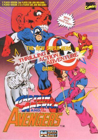 File:Captain America and the Avengers flyer.jpg