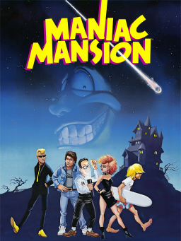 File:Maniac Mansion artwork.jpg