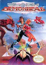 Clash at Demonhead NES cover