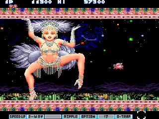 File:Parodius Da X68000 screenshot.png