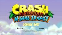 Crash Bandicoot N Sane Trilogy PS4 cover