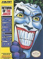 Batman Return of the Joker NES cover