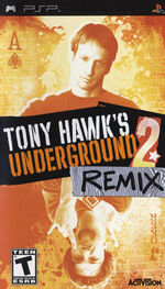 PSP Tony Hawk-s Underground 2 Remix