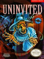 Uninvited NES cover