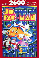 Atari 2600 Jr Pac Man box art