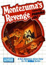 Montezumas Revenge SMS box art