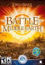 LOTR The Battle for Middle Earth front
