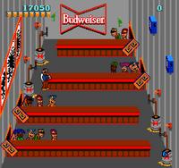 Tapper arcade screenshot