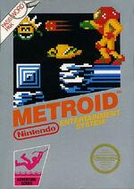 Metroid NES cover